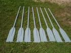 Комплект алюминиевых вёсел для лодки (с уключинами)